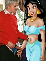 Real guys fucking famous toon girls - 10 cartoon pictures