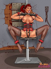 Exquisite and painful BDSM pleasures - 6 bdsm art pictures