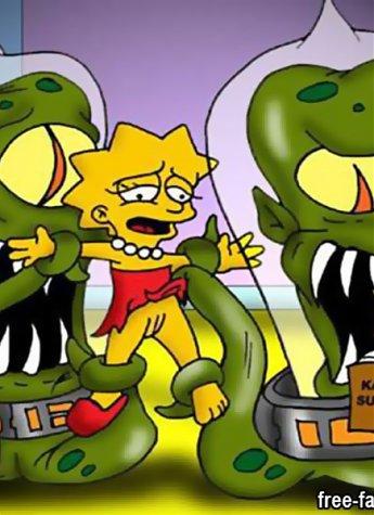 Lisa simpson masturbates think