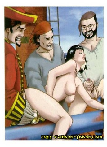 Famous parody where lusty girl Wendy seduces shy guy Peter Pan