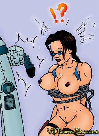 Tomb raider Lara Croft in her wild porn adventures