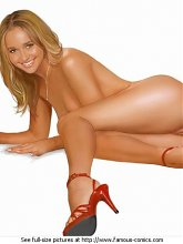 Hayden Panettiere naked - 3 celebrity pictures
