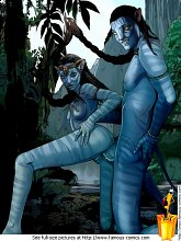 XXX world of Avatar - 3 celebrity pictures