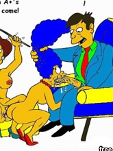 Simpsons family hardcore sex - 10 cartoon pictures