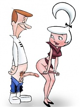 Jetsons family hardcore orgy - 10 cartoon pictures