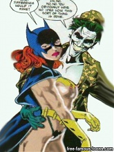 Batman fucking hard Batgirl - 10 cartoon pictures