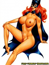 Batman and girlfriends orgy - 10 cartoon pictures