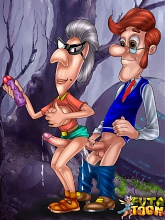 Jimmy Neutron's horny dad hunting trannies - 3 gay & shemale pictures