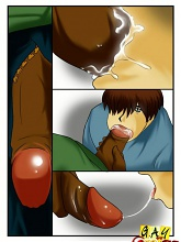 Black thug drills vanilla boy - 5 gay & shemale pictures