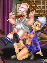 Shemale cartoons from Springfield - 3 gay & shemale pictures