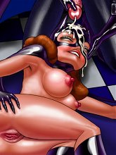 Batman's little slut - 5 cartoon pictures