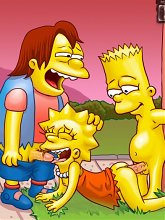 Simpsons porn insanity - 5 cartoon pictures